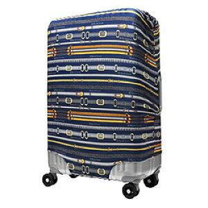 レジェンドウォーカー スーツケースカバー 9101-L-WH-S ネイビーベルト 9101MNVB