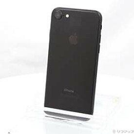 【中古】Apple(アップル) iPhone7 32GB ブラック NNCE2J/A SIMフリー【291-ud】