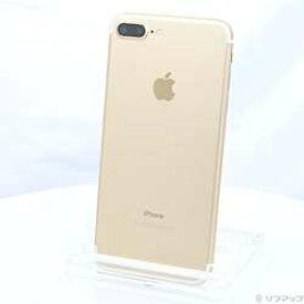 【中古】Apple(アップル) iPhone7 Plus 128GB ゴールド MN6H2J/A SIMフリー【-ud】
