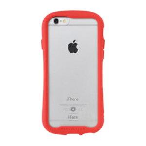 HAMEE [iPhone 6s/6専用]iFace Reflection強化ガラスクリアケース 41-907467 レッド IP6SIFACERFTRD