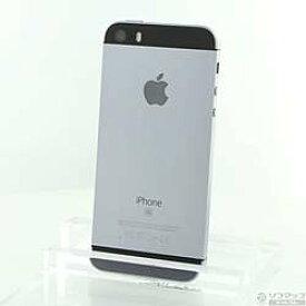 【中古】Apple(アップル) iPhone SE 32GB スペースグレイ MP822J/A SIMフリー【291-ud】