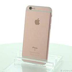 【中古】Apple(アップル) iPhone6s 128GB ローズゴールド NKQW2J/A SIMフリー【291-ud】