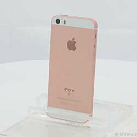 【中古】Apple(アップル) iPhone SE 16GB ローズゴールド MLXN2J/A SIMフリー【291-ud】