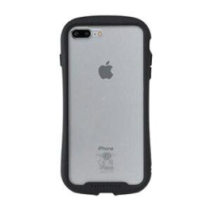 HAMEE [iPhone 8 Plus/7 Plus専用]iFace Reflection強化ガラスクリアケース 41-907481 ブラック IP87PIFACERFTBK