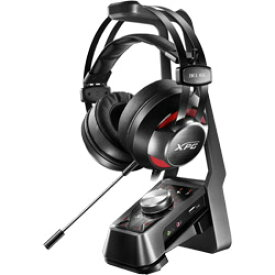 ADATA(エイデータ) 有線ゲーミングヘッドセット+アンプ+スタンド XPG Over-Ear Headset + 7.1channel Amplifier + Metal stand SOLOX F30+EMIX H30 SOLOXF30+EMIXH30