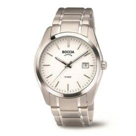 ボッチアチタニューム チタン製メンズメタルバンド腕時計 360803 BOCCIA TITANIUM 3608-03 [正規品] 360803