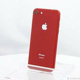 【中古】Apple(アップル) iPhone8 64GB プロダクトレッド MRRY2J/A SIMフリー 〔ネットワーク利用制限▲〕【291-ud】