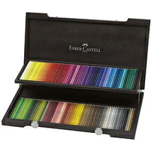 ファーバーカステル Castell ポリ黒モス色鉛筆セット 110013