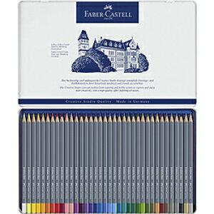 ファーバーカステル ゴールドファーバーアクア水彩色鉛筆セット 36色 114636