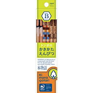 トンボ鉛筆 かきかた鉛筆F木物語02黄緑B KB-KF02-B KBKF02B