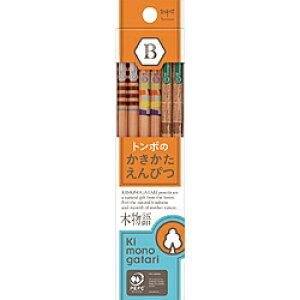 トンボ鉛筆 かきかた鉛筆F木物語03オレンジB KB-KF03-B KBKF03B