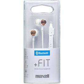 maxell MXH-BTC110WH【リモコン・マイク対応】 ブルートゥースイヤホン カナル型 MXHBTC110WH