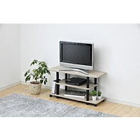 ヤマゼン システムラックTV台 80cm幅 テレビ台 RYWTV-8030OAK3BK RYWTV8030