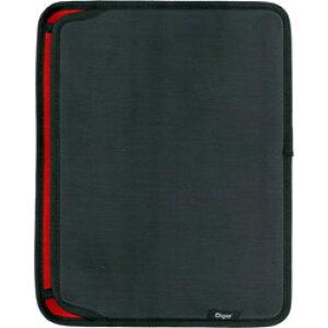 Nakabayashi SurfaceGo用スリップインケース横入れ ポケット付き ブラック TBCSFGY1803BK TBCSFGY1803BK