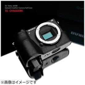 GRAIZ 本革カメラケース ソニー α6500用 (ブラック)XS-CHA6500BK XSCHA6500BK