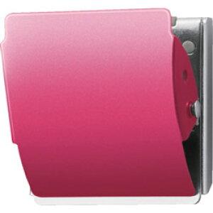 PLUS プラス マグネットクリップ CP-040MCR M ピンク (80412) 80412