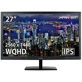 JAPANNEXT PCモニター JN-IPS2777WQHD [27型 /ワイド /WQHD(2560×1440)] JNIPS2777WQHD