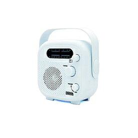 ヤザワ シャワーラジオ ホワイト SHR02WH SHR02WH