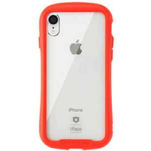 HAMEE [iPhone XR専用]iFace Reflection強化ガラスクリアケース 41-907238 レッド [振込不可]