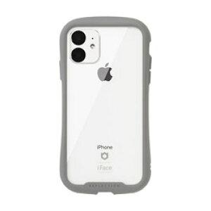HAMEE iPhone 11 6.1インチ iFace Reflection強化ガラスクリアケース 41-907368 グレー IPXIRIFACERFTGRY