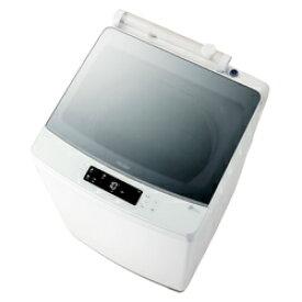 ハイアール 全自動洗濯機 ホワイト JW-KD85A-W [洗濯8.0kg /乾燥機能無 /上開き] JWKD85A 【お届け日時指定不可】