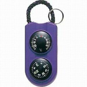 エンペックス 温度計 「サーモ&コンパス」 FG-5126(パープル) FG5126