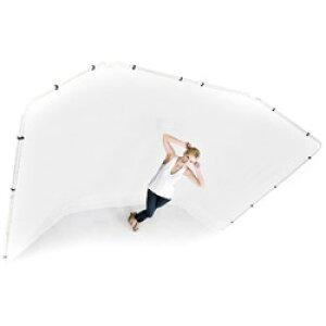 ラストライト パノラマ背景 4m幅×2.3m高 ホワイト カバーのみ LB7627 LLLB7627
