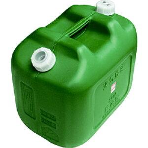 ヒシエス ヒシエス 軽油缶 20Lワイド グリーン KY20W