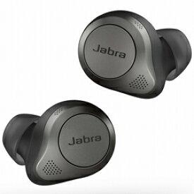 Jabra(ジャブラ) フルワイヤレスイヤホン Elite 85t チタニウムブラック 100-99190000-40 [リモコン・マイク対応 /ワイヤレス(左右分離) /Bluetooth /ノイズキャンセリング対応] ELITE85T [振込不可]