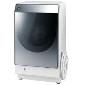 SHARP(シャープ) ES-W112-SR ドラム式洗濯乾燥機 シルバー系 [洗濯11.0kg /乾燥6.0kg /ヒートポンプ乾燥 /右開き] ESW112 【お届け日時指定不可】