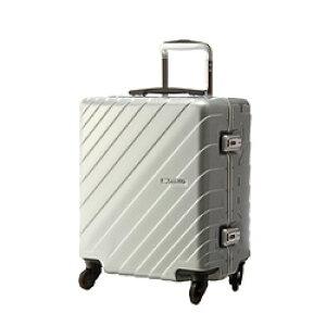 協和 スーツケース 40L ナロースクエア シルバー 85-76515 [TSAロック搭載] 8576515
