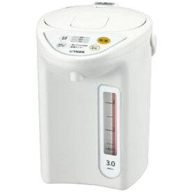 TIGER(タイガー) マイコン電動ポット (3.0L) PDR-G301-W ホワイト PDRG301W
