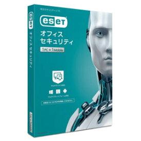 キヤノンITソリューションズ ESET オフィス セキュリティ 1PC+1モバイル [Win・Mac・Android用] CMJES14007