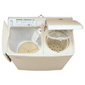 HITACHI(日立) PA-T45K5-CP(パインベージュ) 自動2槽式洗濯機 青空<洗濯4.5kg> PAT45K5 【お届け日時指定不可】