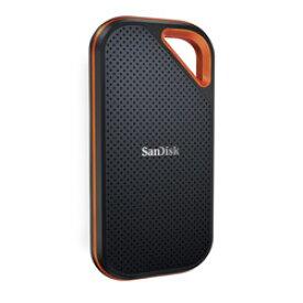 SanDisk(サンディスク) SDSSDE81-2T00-J25 外付けSSD USB-C+USB-A接続 エクストリームプロ V2 [ポータブル型 /2TB] SDSSDE812T0025
