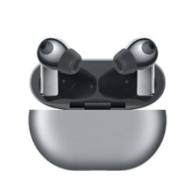 HUAWEI(ファーウェイ) フルワイヤレスイヤホン シルバーフロスト FreeBudsPro/SilverFrost [マイク対応 /ワイヤレス(左右分離) /Bluetooth /ノイズキャンセリング対応] FREEBUDSPROSILVER