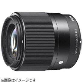 SIGMA(シグマ) カメラレンズ 30mm F1.4 DC DN Contemporary【ソニーEマウント(APS-C用)】 30MMF1.4DCDN_CONTEMP