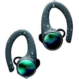 プラントロニクス BACKBEAT FIT 3100-GRY グレー【IP57防水】【本体5時間再生】【片耳11g】【スポーツ向け】完全ワイヤレスイヤホン 耳かけカナル型 BACKBEATFIT3100GRY