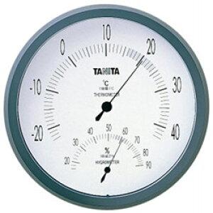 タニタ 温度計 温湿度計 TT-492NGY Nグレー TT492NGY