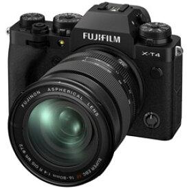 FUJIFILM(フジフイルム) X-T4-B ミラーレス一眼カメラ XF16-80mmレンズキット ブラック [ズームレンズ] FXT4LK1680B