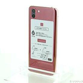 【中古】SHARP(シャープ) AQUOS R2 64GB ローズレッド 706SH SoftBank【291-ud】