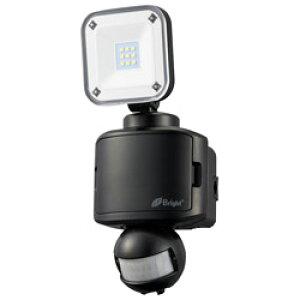 オーム電機 乾電池式 LEDセンサーライト 1灯 ブラック LS-B145A19-K LSB145A19K