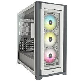 CORSAIR(コルセア) PCケース 5000X RGB TG WHT ホワイト CC-9011213-WW CC9011213WW