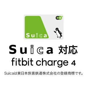 FITBIT【Suica対応】FitbitCharge4GPS搭載フィットネストラッカーBlack/BlackL/SサイズFitbitブラックFB417BKBK-JP[7日以上]FB417BKBKJP