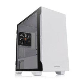 Thermaltake PCケース S100 TG Snow Edition ホワイト CA-1Q9-00S6WN-00 CA1Q900S6WN00