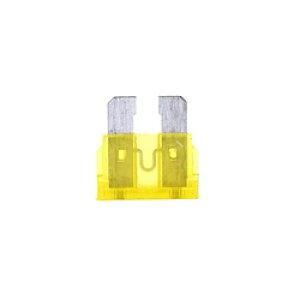 小糸製作所 ブレードヒューズ 20A ハウジングカラー:黄色 (1箱/10個入り) F2080 F2080