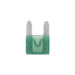 小糸製作所 F3070 ミニヒューズ 30A ハウジングカラー:緑色 (1箱/10個入り) F3070