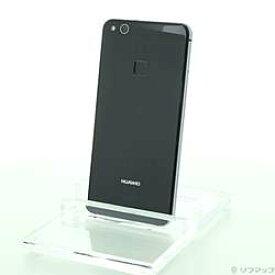 【中古】HUAWEI(ファーウェイ) HUAWEI P10 lite 32GB ミッドナイトブラック WAS-LX2J SIMフリー【291-ud】