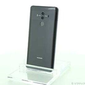 【中古】HUAWEI(ファーウェイ) HUAWEI Mate 10 Pro 128GB チタニウムグレー BLA-L29 SIMフリー【291-ud】