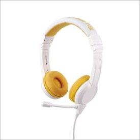ONANOFF ヘッドホン イエロー BuddyPhones-School+YELLOW [マイク対応 /φ3.5mm ミニプラグ] BPSCHOOLPYELLOW